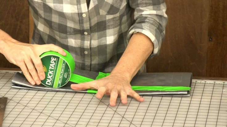 how to make a duct tape tool belt