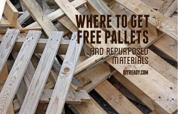 where-to-get-pallets | where to get free pallets - How To Find Free Pallets For DIY Projects DIY Projects Craft Ideas