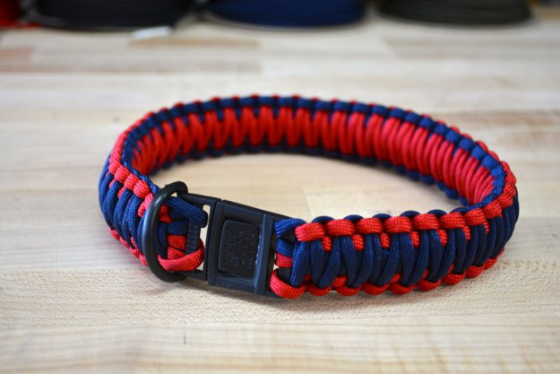 How to make a paracord dog collar diy projects craft ideas for Paracord leash instructions