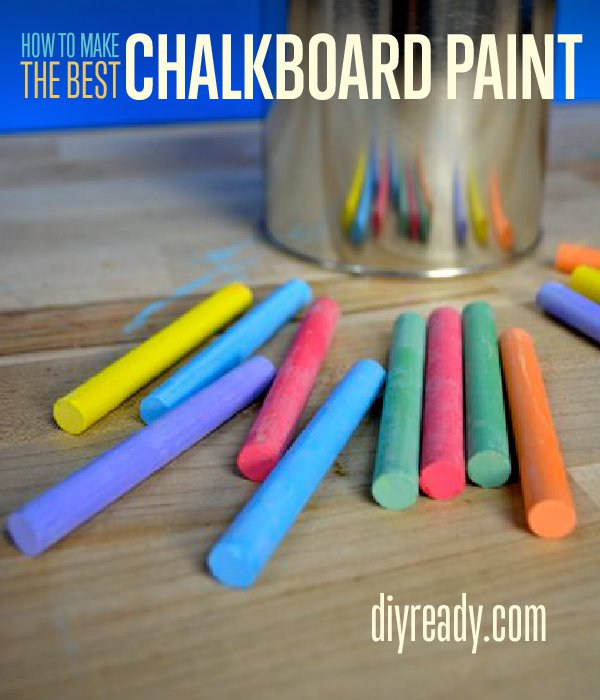 Learn How to Make a Magnetic Chalkboard