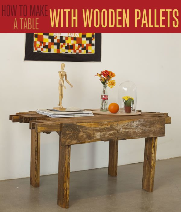 Pallet Furniture Ideas | Cool DIY Coffee Table Project Tutorial