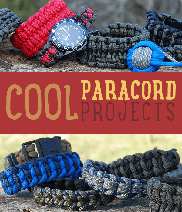 25 Paracord Projects, Knots, And Ideas To Make On Your Own