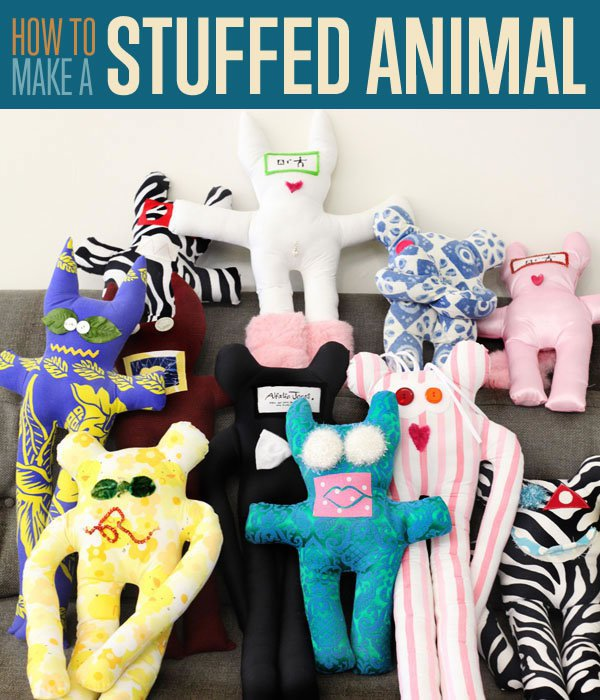 How To Make Homemade Custom Stuffed Animals With This Easy Step By Sewing Tutorial