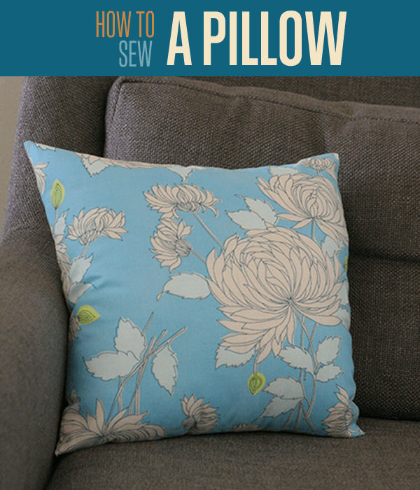 Making Pillow Covers Simple Make Your Own Throw Pillow DIY Projects Craft Ideas How To's For