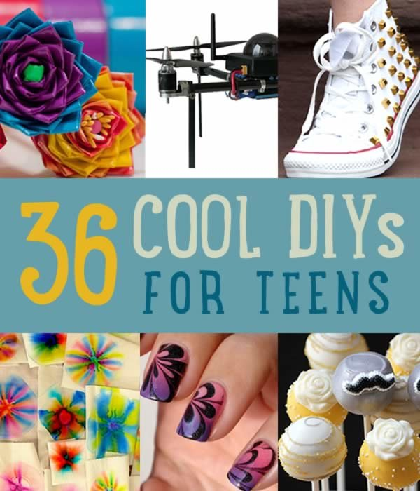 Cool DIY Projects For Teens and Craft Ideas for Teenagers
