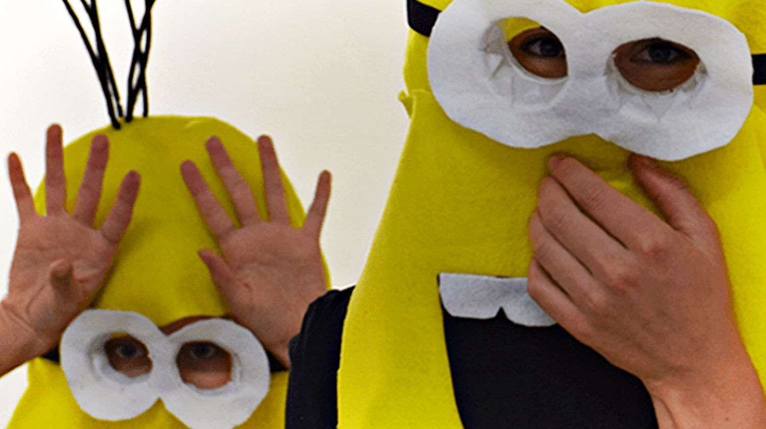 Two minion costume | How To Make A Minion Costume | DIY Costume Plans | Featured