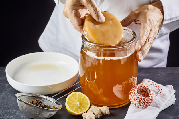 Check out Homemade Scoby for Kombucha at https://diyprojects.com/homemade-scoby-for-kombucha-tea/