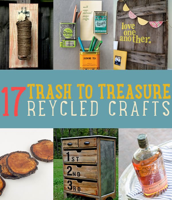 17 Diy Recycled Crafts Diy Projects Craft Ideas How To S