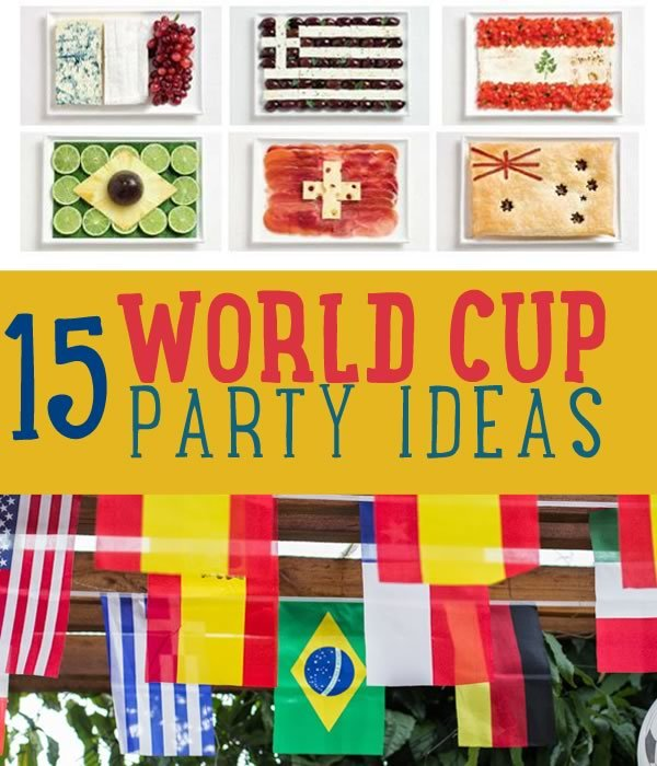 Fifa World Cup Party Ideas Diy Projects Craft Ideas How Tos For