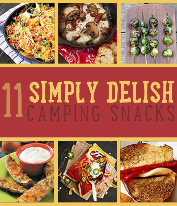 Camping Snacks Recipes | https://diyprojects.com/crazy-simple-super-delicious-camping-snacks-camping-food-recipes/