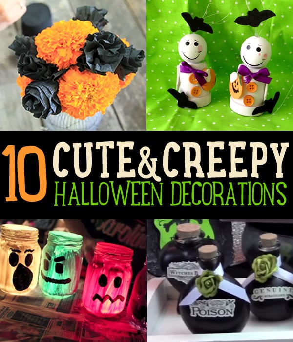 cute and creepy halloween decorations diy projects craft ideas how