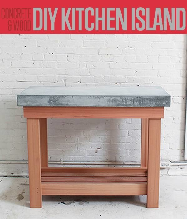 Build This DIY Rustic Kitchen Island | Cheap Kitchen Renovations