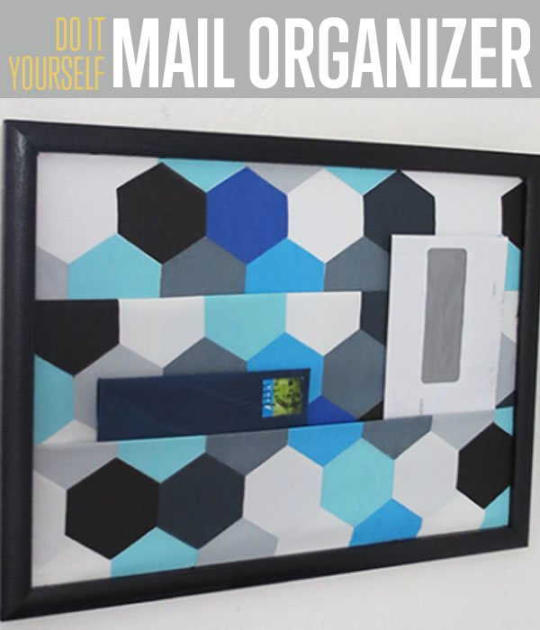 Mail organizer | DIY Organization Ideas For A Clutter-Free Life