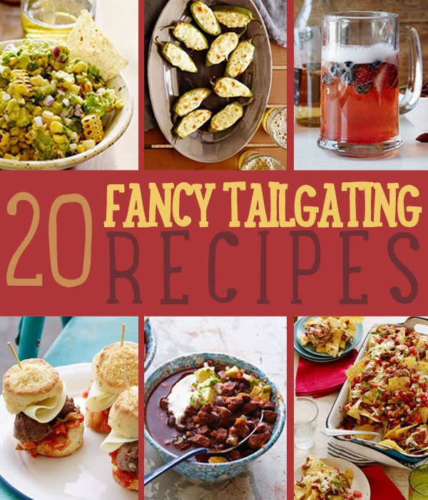 Fancy Recipes For Your Next Tailgate