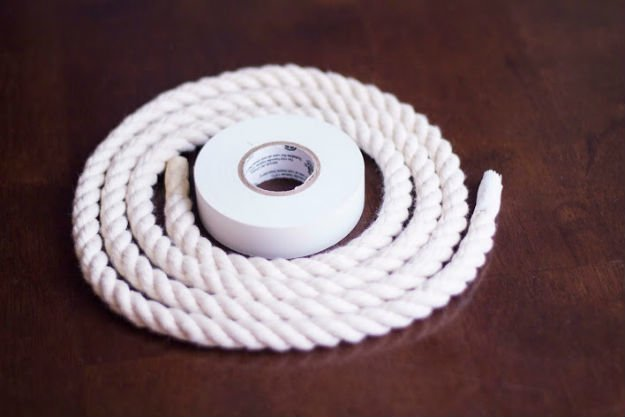 Ombre Rope Dog Leash   DIY Pet Projects