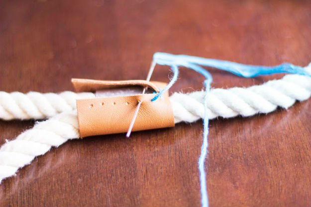 Ombre Rope Dog Leash | DIY Pet Projects