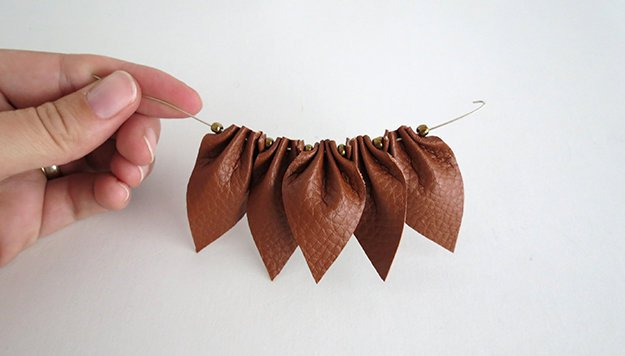 How To Make A Leather Necklace Diy Projects Craft Ideas