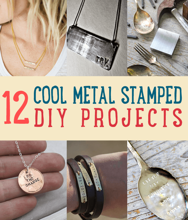 Easy Metal Stamped Jewelry