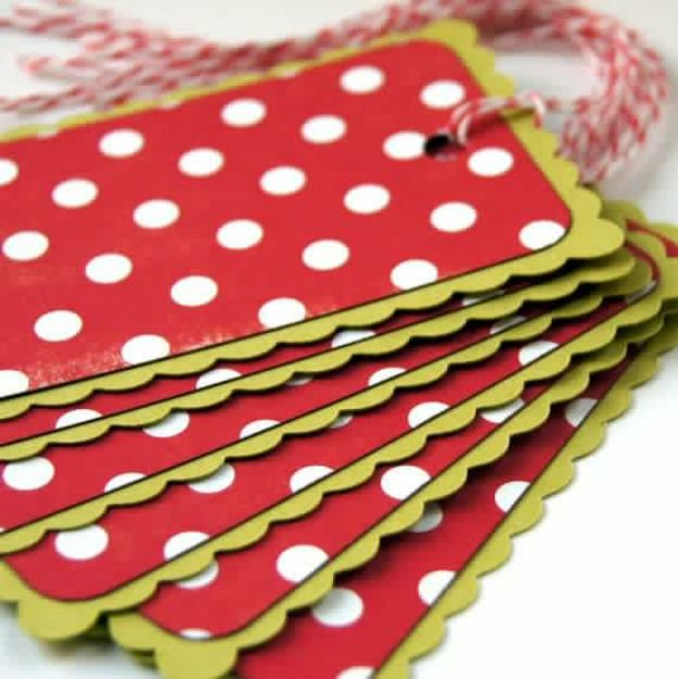 Great Christmas Gifts To Make: Christmas Gift Tags DIY Projects