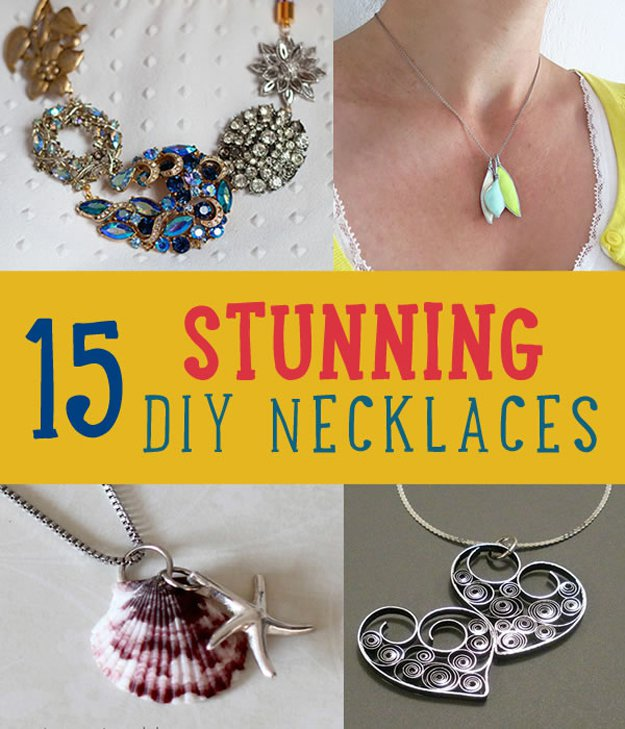 Stunning DIY Necklaces | Easy Crafts To Make And Sell