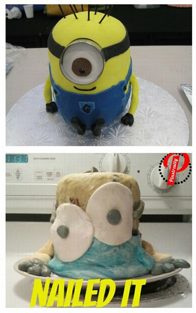 Epic Pinterest Cake Fails | https://diyprojects.com/40-pinterest-fails-to-make-your-day/