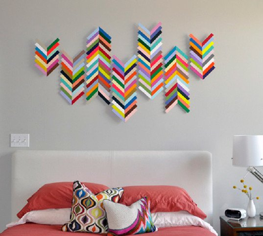 Wall art diy projects craft ideas how to s for home for Art and craft for wall decoration
