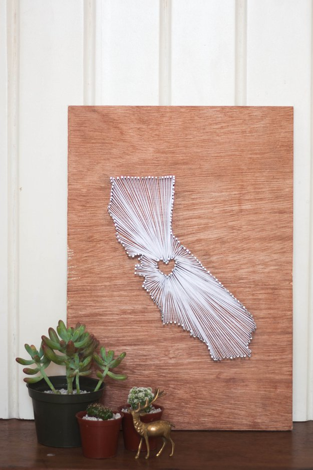 How To Make Your Own String Art Diy Projects Craft Ideas How Tos