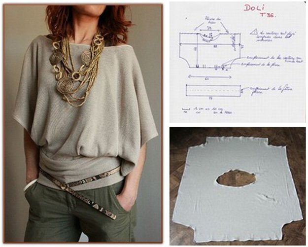 Hot DIY Blouse Design | diyprojects.com/diy-clothes-sewing-blouses-tutorial/