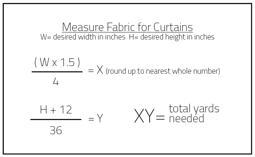 How to Measure for Curtains DIY Projects Craft Ideas   How To s for ... fb782d6ec