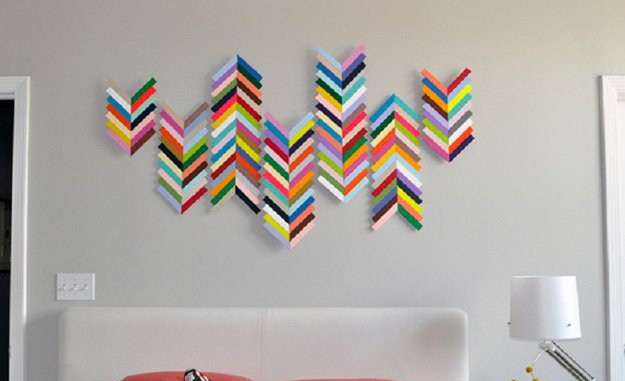 Wall art diy projects craft ideas how to s for home for Art and craft home decoration