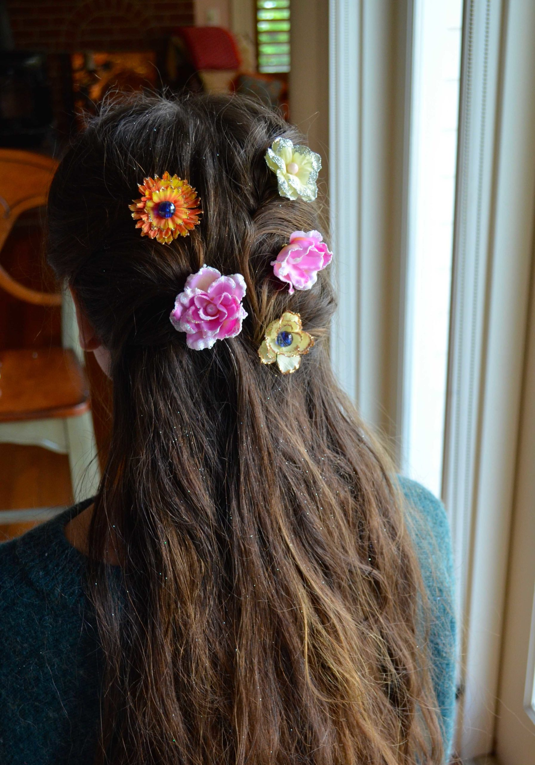 Flower Hair Accessories Fit for a Princess