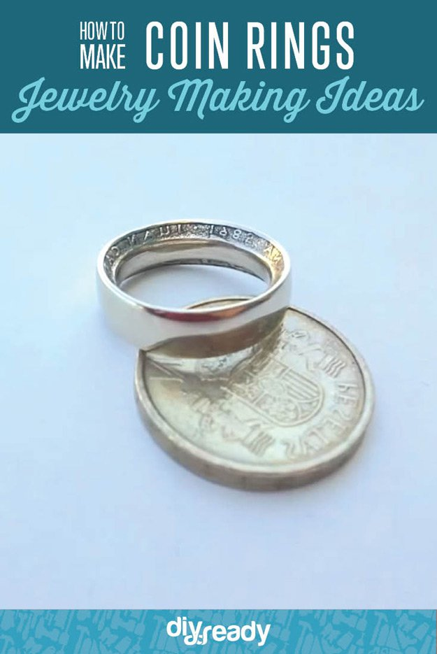 how to make coin rings diy projects craft ideas  u0026 how to u2019s