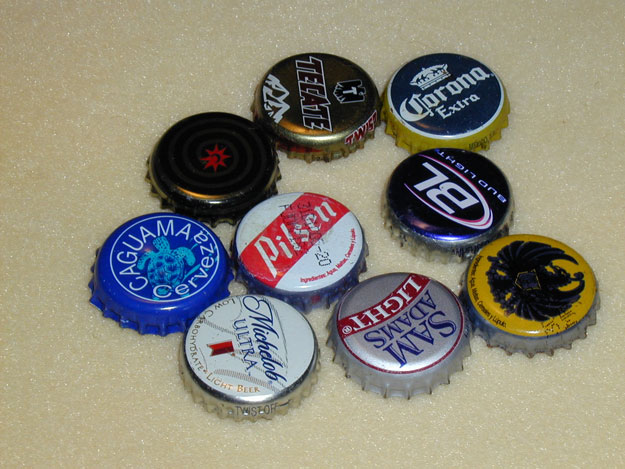 Bottle Caps | Things to Never Throw Away