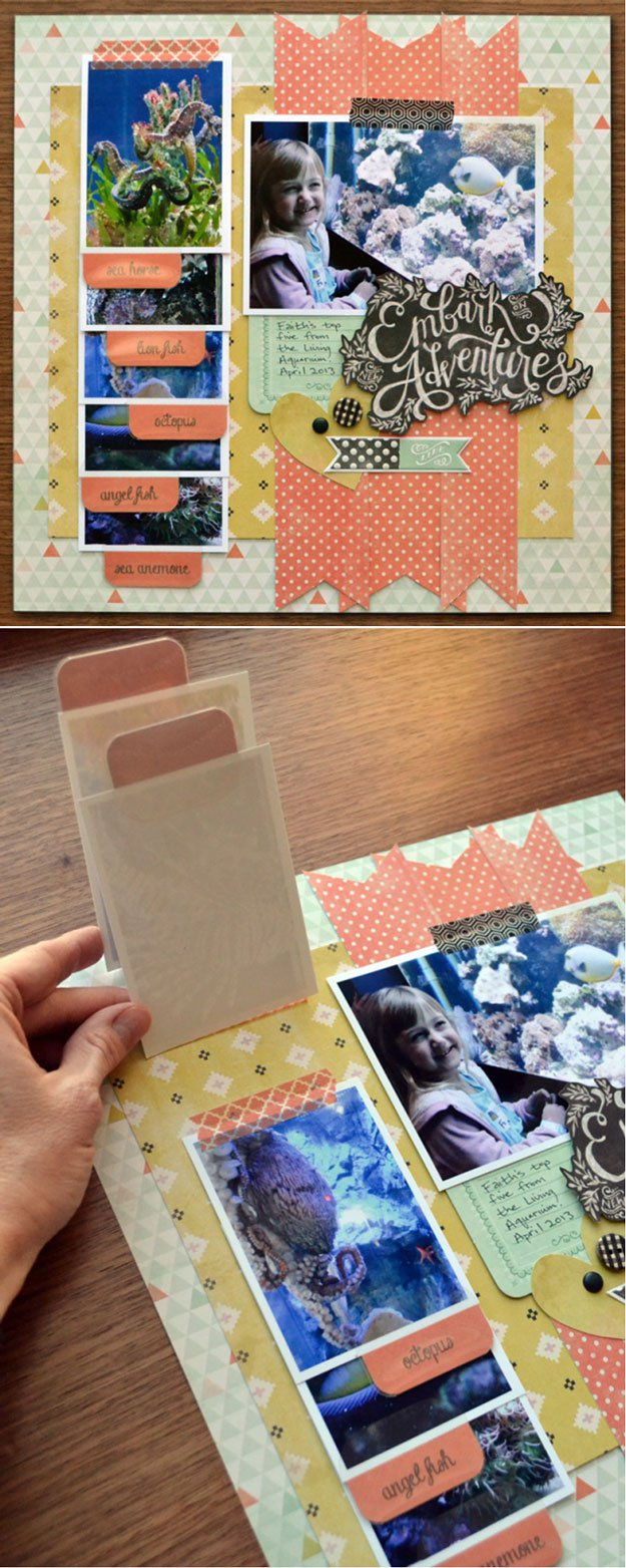 Unique and Easy Homemade Scrapbook Ideas | https://diyprojects.com/cool-scrapbook-ideas-you-should-make/