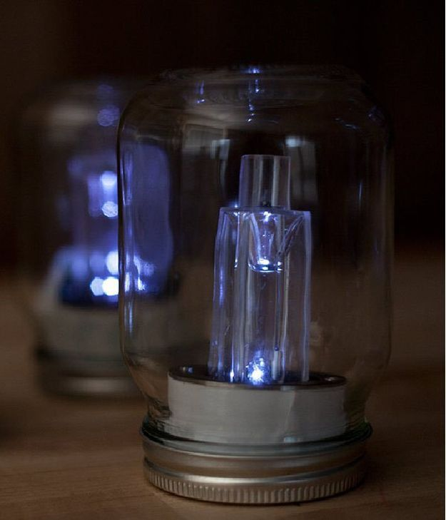DIY Mason Jar Solar Lights | 21 Bright DIY Outdoor Lantern Ideas For A Cool Garden Design