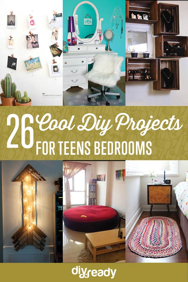Projects for Teens\' Bedrooms DIY Projects Craft Ideas & How To\'s ...