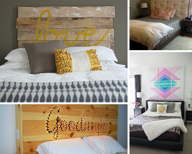 Diy Projects For Bedroom Decor Part - 34: DIY Headboards | 26 Cool DIY Projects For Teens Bedroom