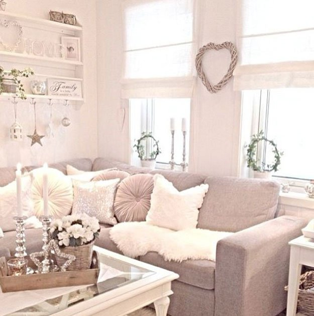 Shabby chic decor ideas diy projects craft ideas how to for Trendy living room decor