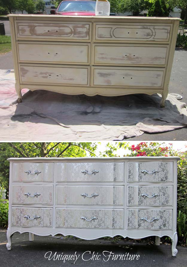 How to Make Shabby Chic Furniture | https://diyprojects.com/12-diy-shabby-chic-furniture-ideas/