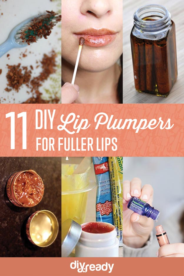 Check out 11 DIY Lip Plumper Ideas for Naturally Plump Lips at https://diyprojects.com/diy-lip-plumper-ideas/