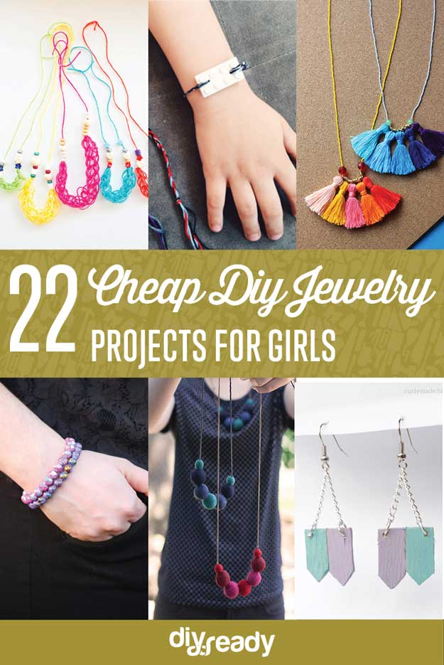 Cheap Jewelry Projects For Girls Diy Projects Craft Ideas