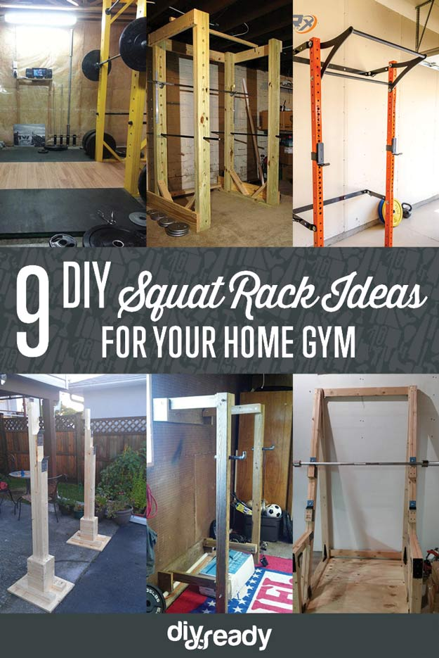 Homemade squat rack crossfit ftempo