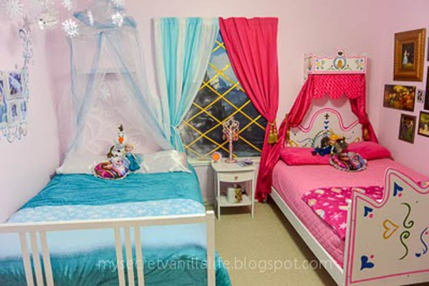 10 DIY Bedroom Ideas For Frozen Fans