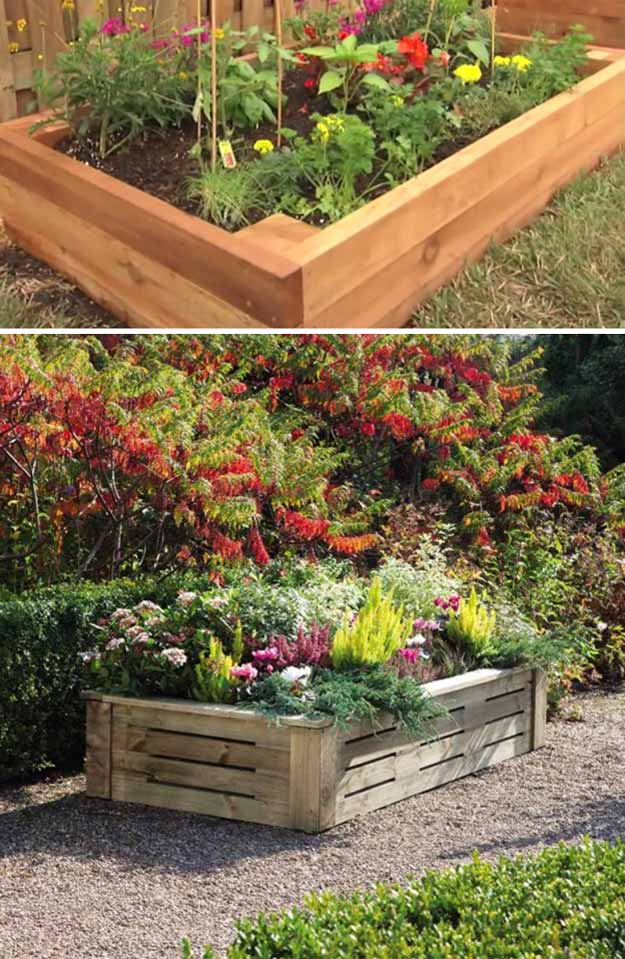 14 diy backyard ideas as seen on yard crashers diy projects for Backyard flower bed ideas
