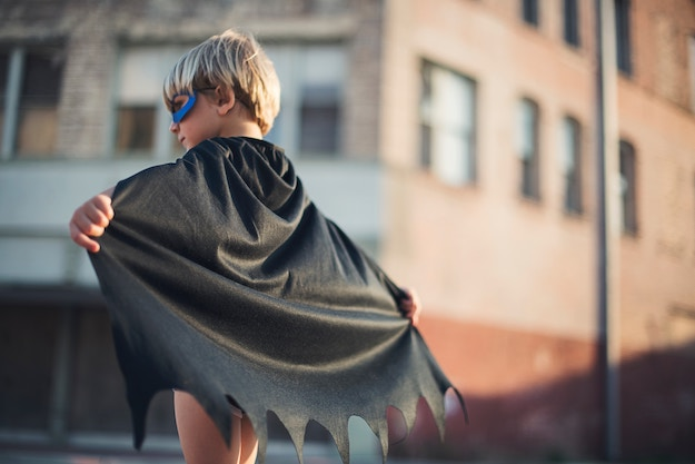 Check out How to Make a Cape at https://diyprojects.com/make-cape/