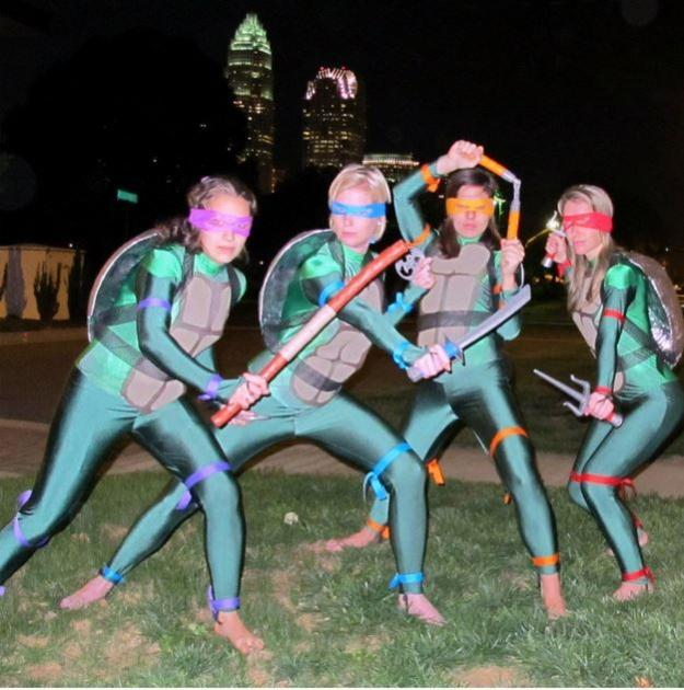 Diy ninja turtle costume ideas diy projects craft ideas how tos tmnt adult homemade costume 15 diy ninja turtle costume ideas cowabunga solutioingenieria