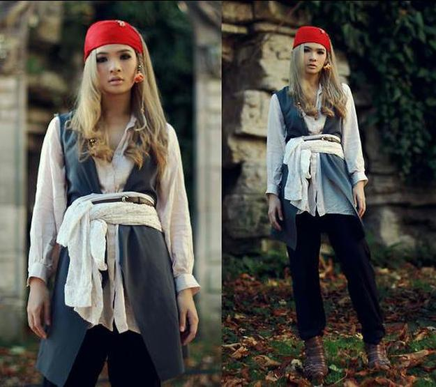 Pirate costume ideas diy projects craft ideas how tos for home diy lady jack sparrow costume 25 diy pirate costume ideas solutioingenieria Choice Image