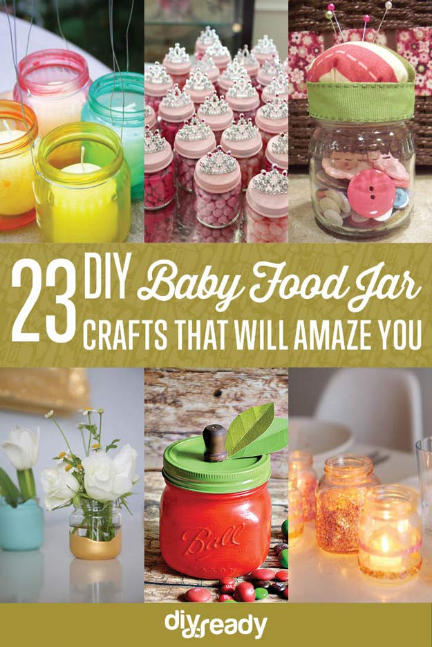 craft ideas for baby food jars baby food jar craft ideas diy projects craft ideas amp how 7554