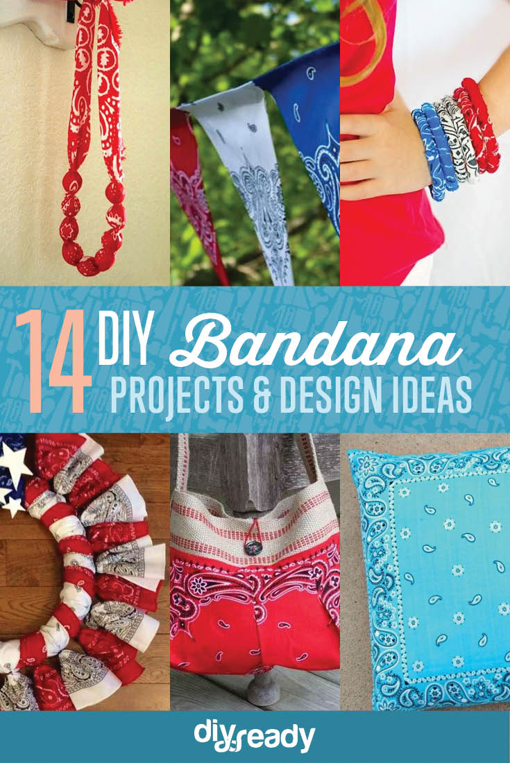 14 DIY Bandana Design Projects, see more at https://diyprojects.com/14-diy-bandana-design-ideas