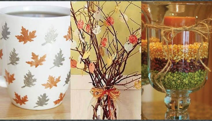 Amazingly falltastic thanksgiving crafts for adults diy for Leaf crafts for adults